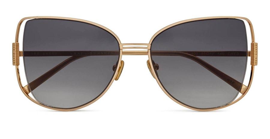 Ted Baker Roma TB 1617 Women's Sunglasses Grey / Gold