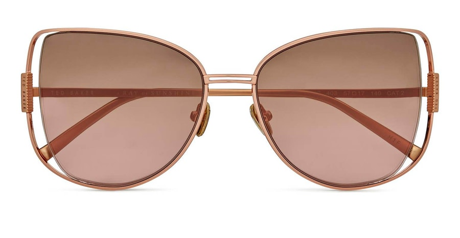 Ted Baker Roma TB 1617 (403) Sunglasses Brown / Rose Gold