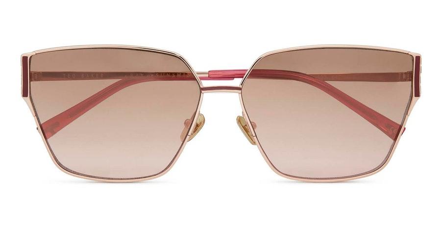 Ted Baker Jazmin TB 1618 (403) Sunglasses Brown / Rose Gold