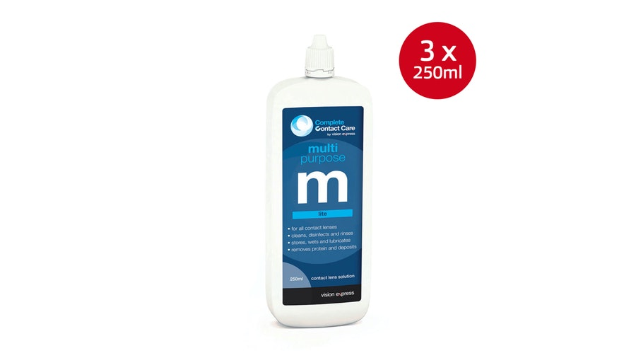 Multipurpose M Lite Contact Lens Solution