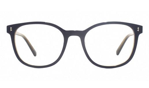 Louisa WHS005 Women's Glasses Transparent / Navy