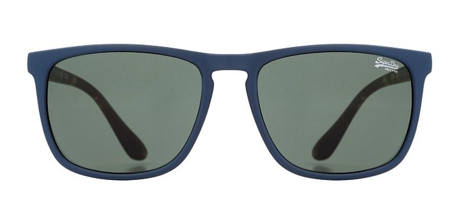 Superdry Shockwave SDS 106 Men's Sunglasses Green / Blue