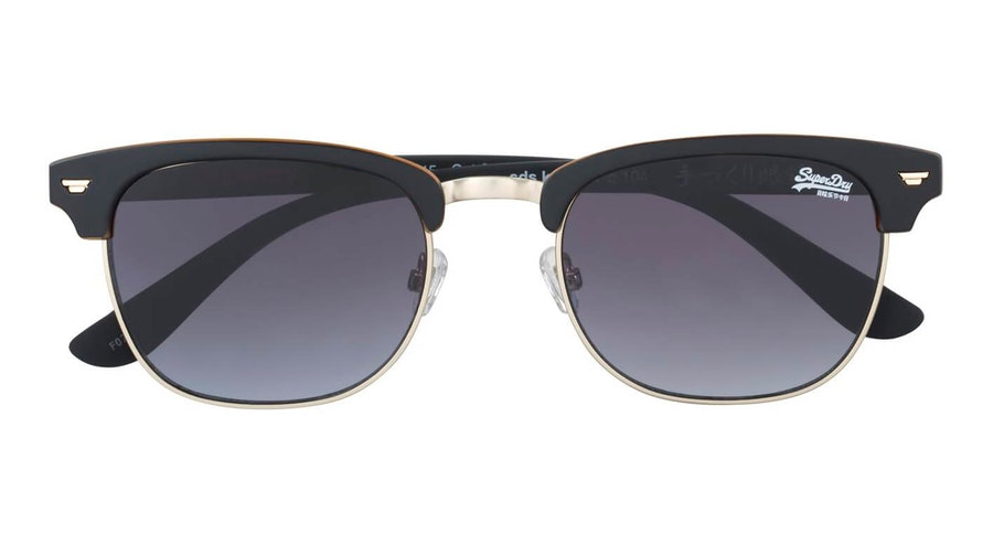 Superdry Kendrik SDS 104 Men's Sunglasses Blue / Black