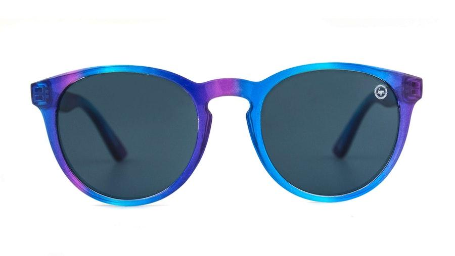 Hype Round (C161) Youth Sunglasses Grey / Blue