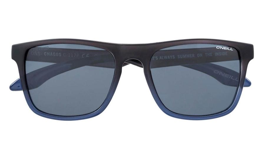 O'Neill Chagos 117P Unisex Sunglasses Grey / Grey