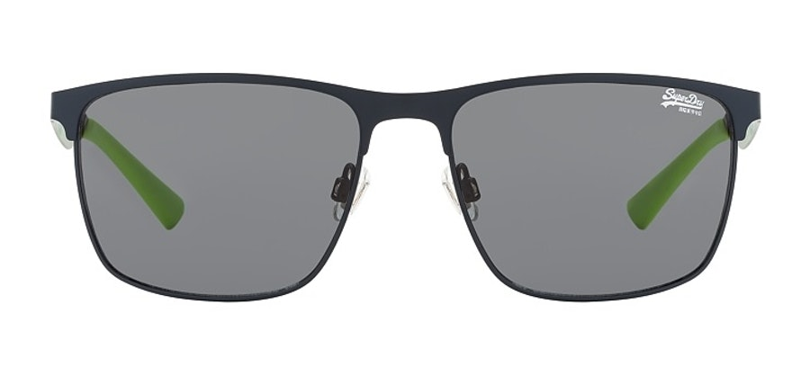 Superdry Ace SDS 006 Men's Sunglasses Silver / Navy