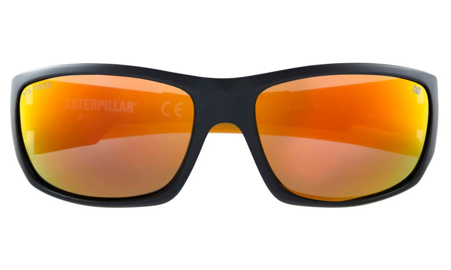 Caterpillar Coffer 104P Men's Sunglasses Gold / Black