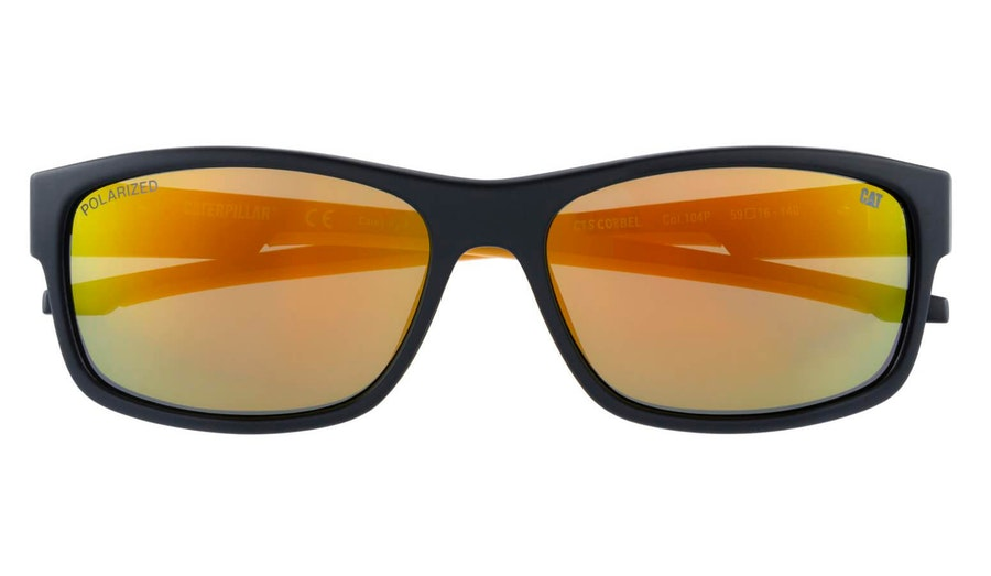 Caterpillar Corbel 104P Men's Sunglasses Gold / Black