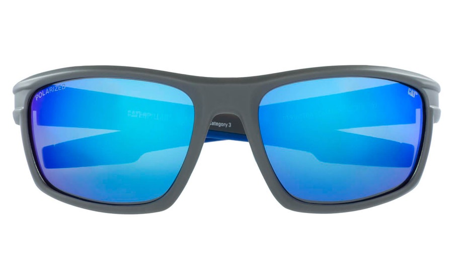 Caterpillar Motor 108P (108P) Sunglasses Blue / Grey