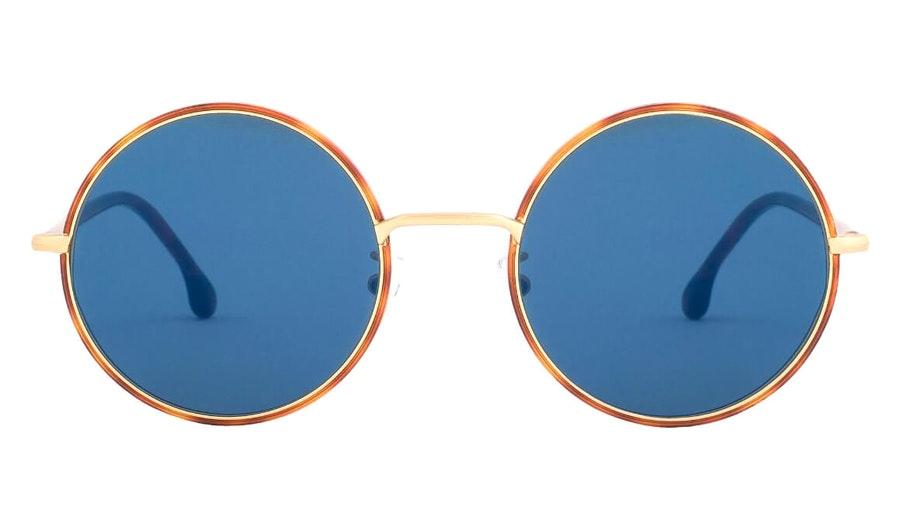 Paul Smith Alford PS SP004V2 Unisex Sunglasses Blue / Havana