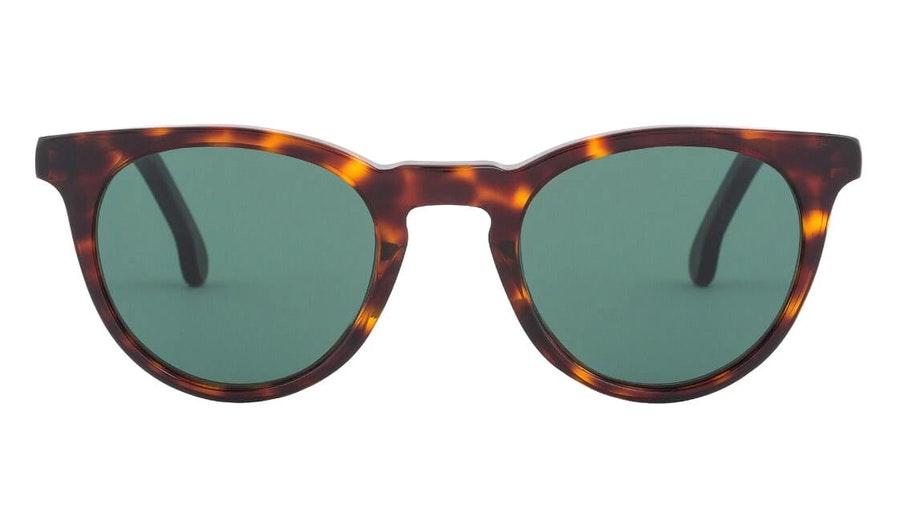 Paul Smith Archer PS SP013 Unisex Sunglasses Green / Tortoise