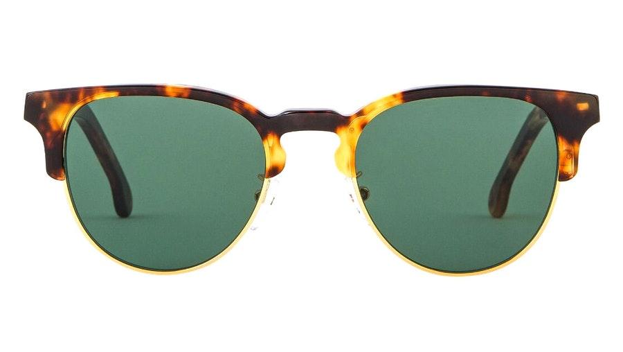 Paul Smith Birch PS SP014 Unisex Sunglasses Green / Havana