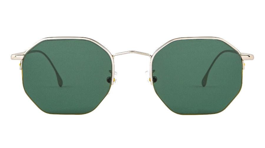 Paul Smith Brompton PS SP018 (001) Sunglasses Green / Silver