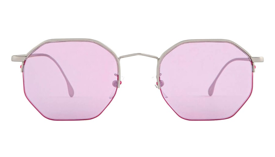 Paul Smith Brompton PS SP018 (02) Sunglasses Purple / Silver