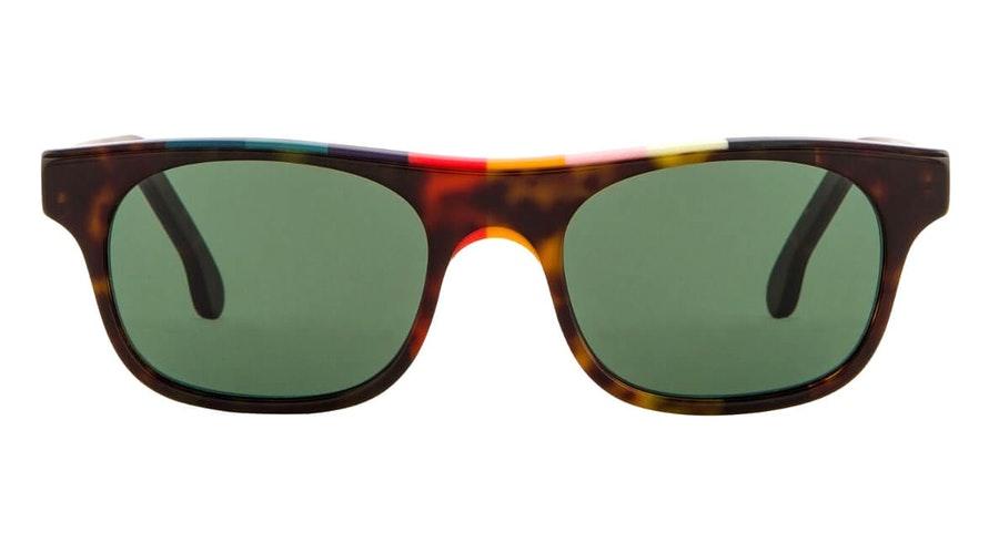 Paul Smith Bernard PS SP019V2 Unisex Sunglasses Green / Havana
