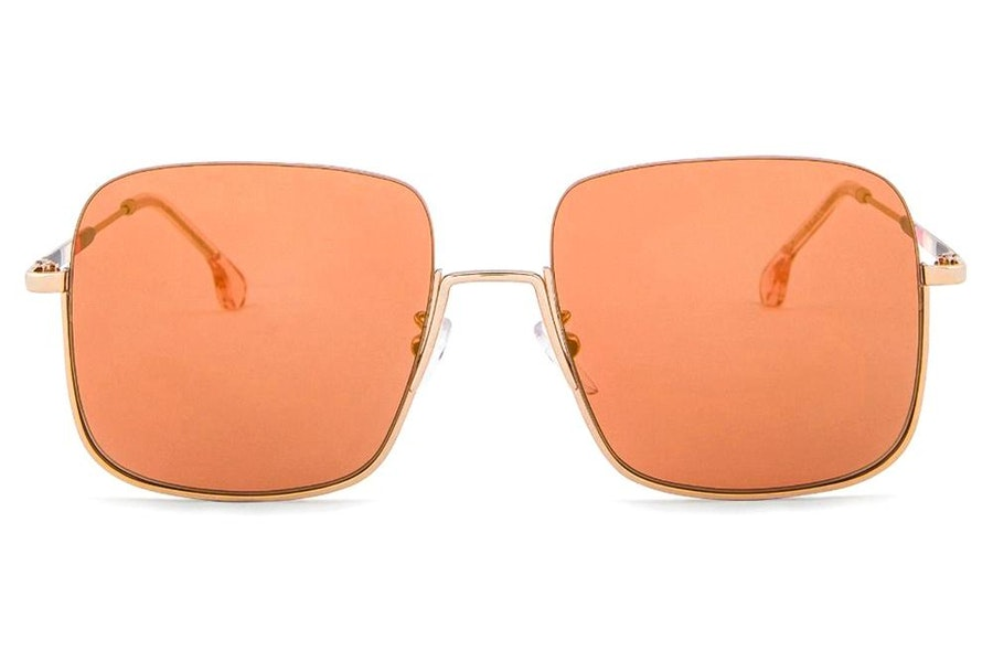 Paul Smith Cassidy PS SP028 (001) Sunglasses Brown / Gold
