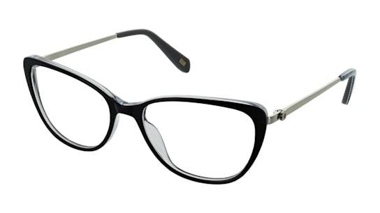OK 043 Women's Glasses Transparent / Black