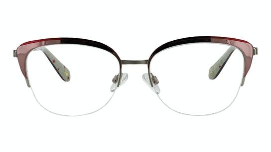 OK 050 Women's Glasses Transparent / Pink