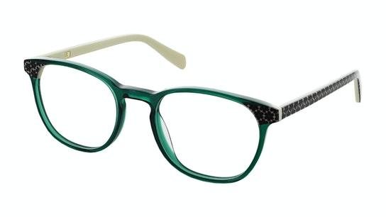 OK 053 Women's Glasses Transparent / Green