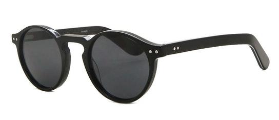 Cut Eight Unisex Sunglasses Grey / Black