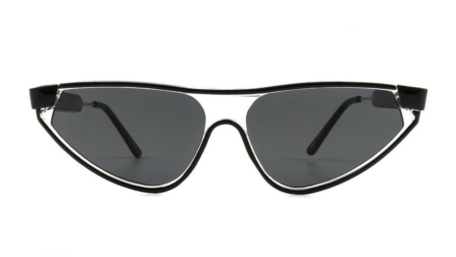 Spitfire Snip Women's Sunglasses Grey / Transparent