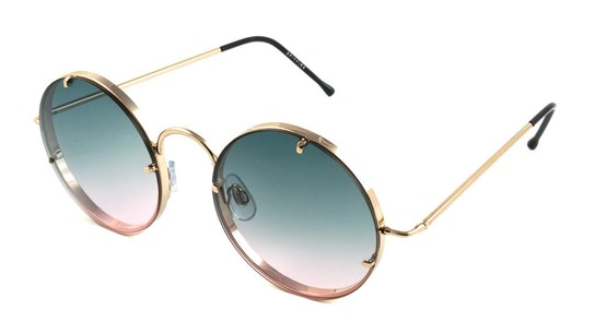 Poolside Women's Sunglasses Blue / Gold