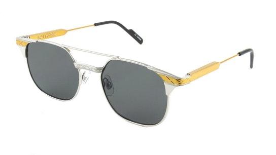 Grit Men's Sunglasses Grey / Silver