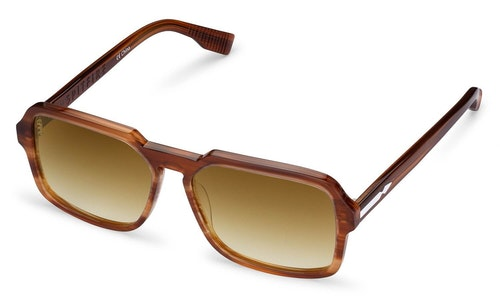 Cut Twenty Men's Sunglasses Brown / Tortoise Shell