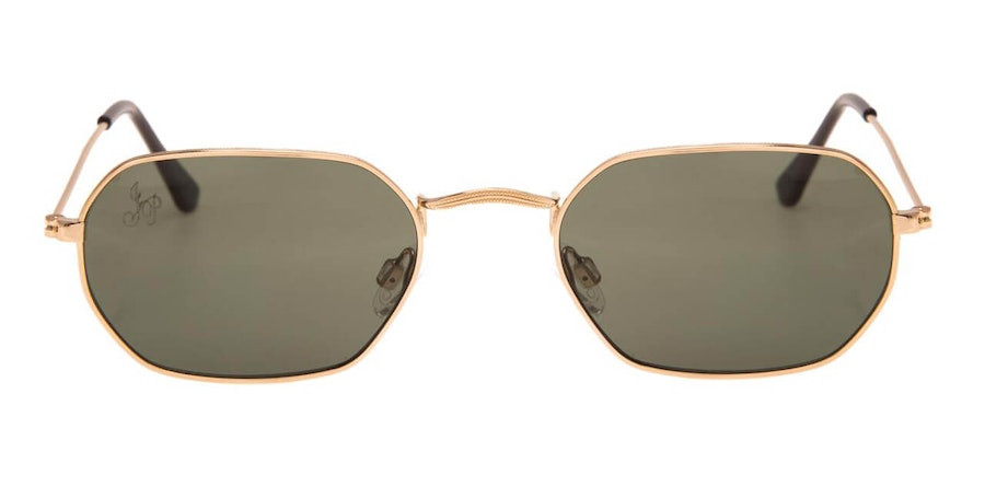 Jeepers Peepers JP 18291 Unisex Sunglasses Green / Gold