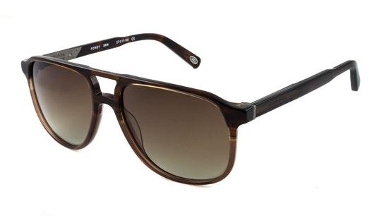 Fowey Men's Sunglasses Brown / Brown