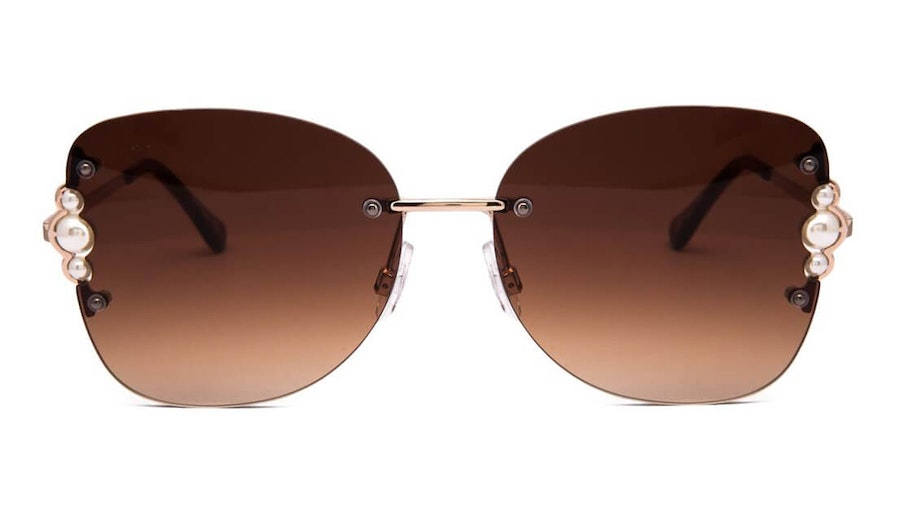 Jeepers Peepers JP 18518 (DD) Sunglasses Brown / Gold