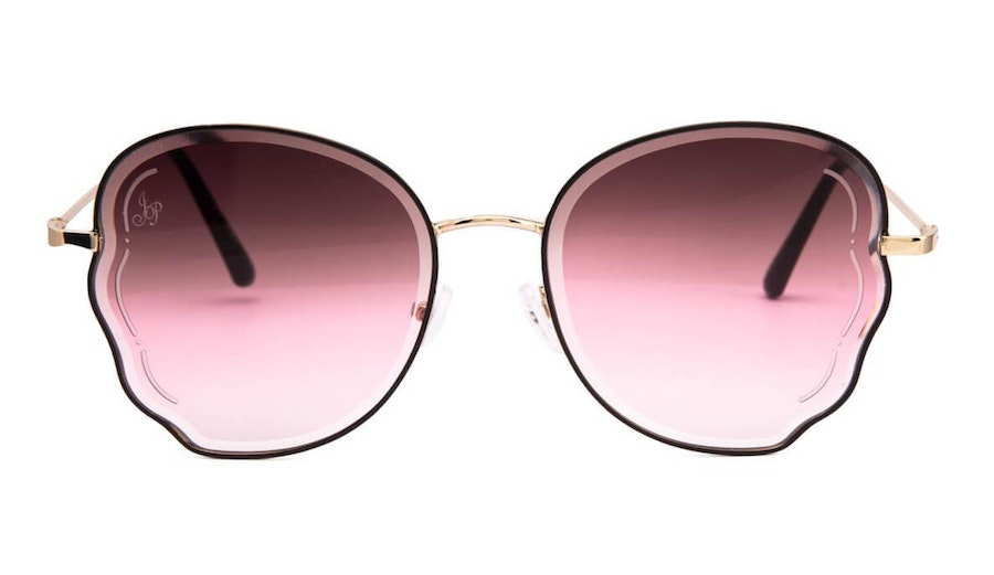 Jeepers Peepers JP 18519 Women's Sunglasses Brown / Gold
