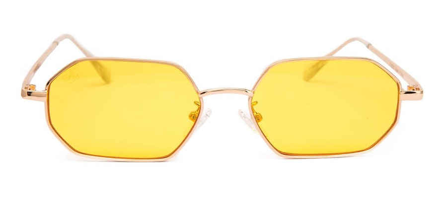 Jeepers Peepers JP 18525 Unisex Sunglasses Yellow / Gold