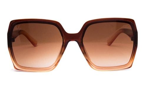 JP 18530 Women's Sunglasses Brown / Brown