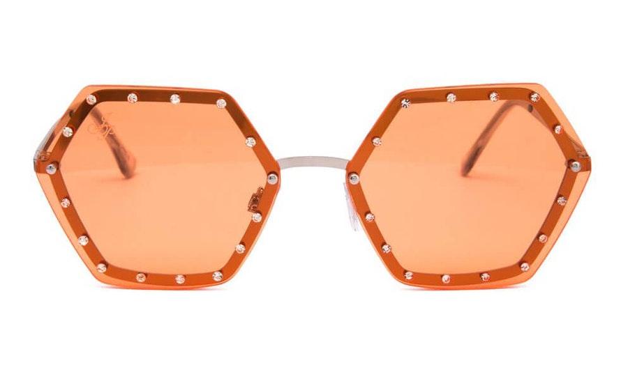Jeepers Peepers JP 18554 Women's Sunglasses Orange / Silver