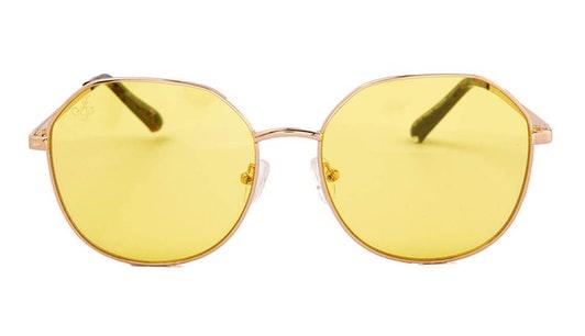 JP 18609 Unisex Sunglasses Yellow / Gold