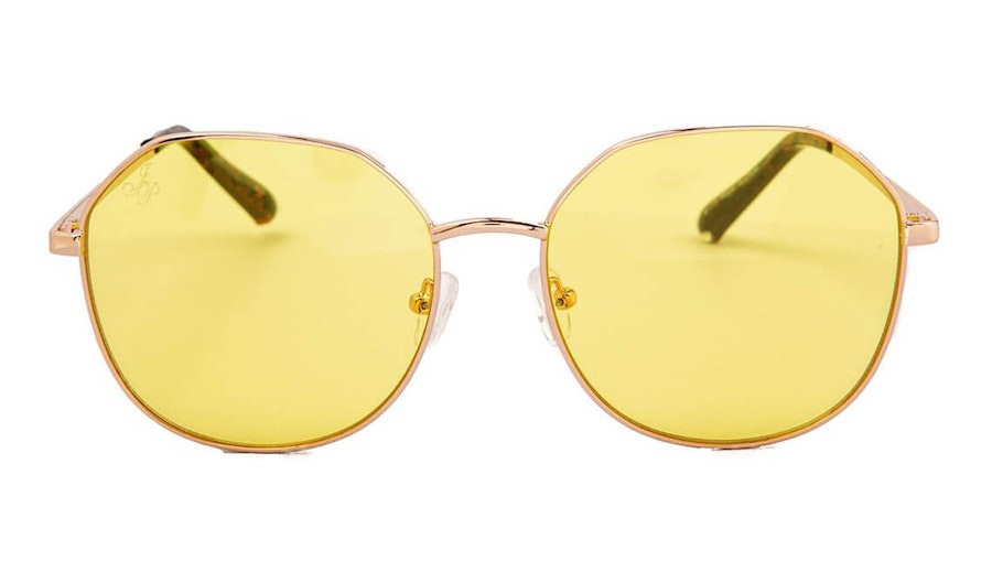 Jeepers Peepers JP 18609 Unisex Sunglasses Yellow / Gold