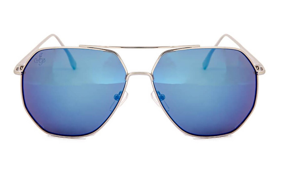 Jeepers Peepers JP 18611 (SS) Sunglasses Blue / Silver