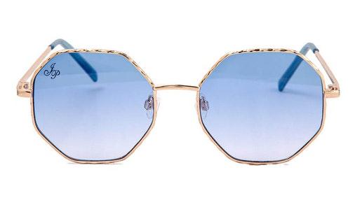 JP 18614 Unisex Sunglasses Blue / Gold