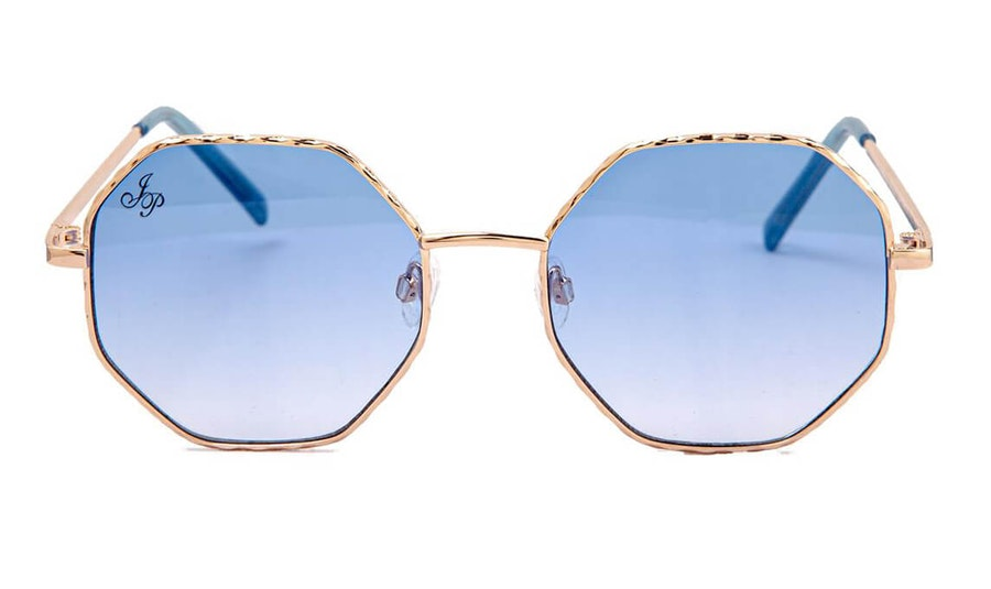 Jeepers Peepers JP 18614 Unisex Sunglasses Blue / Gold
