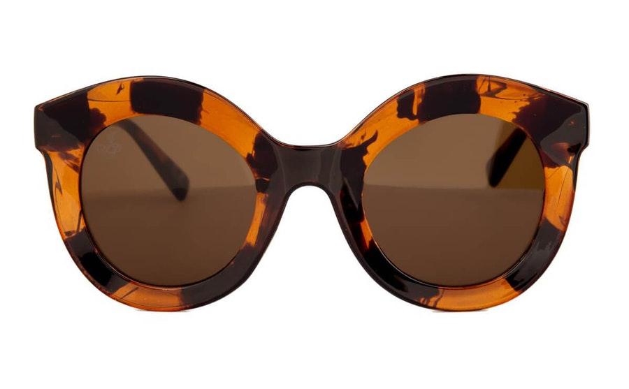 Jeepers Peepers JP 18617 (HH) Sunglasses Brown / Havana