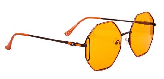 JP 18623 Unisex Sunglasses Orange / Orange