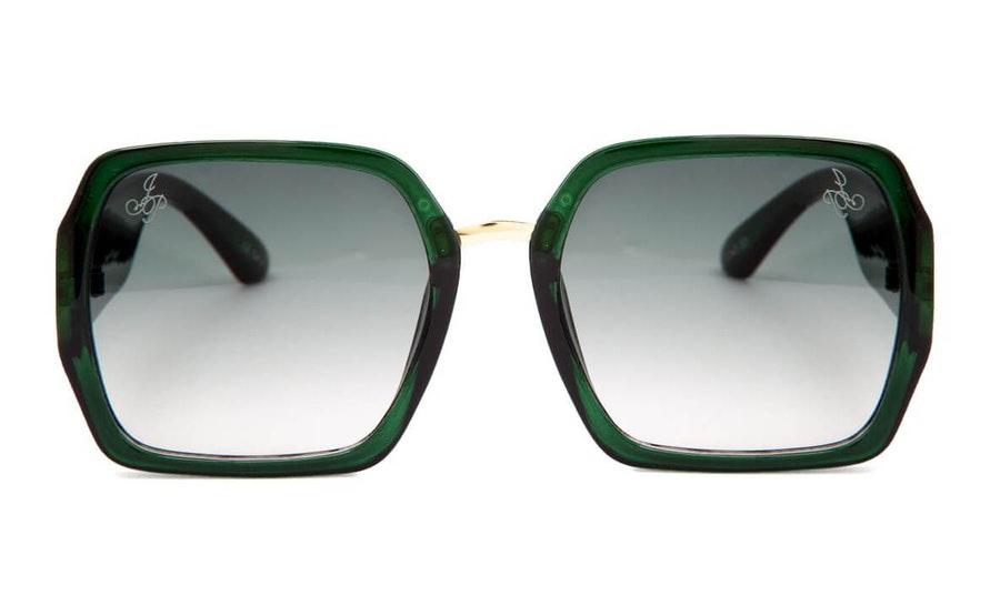 Jeepers Peepers JP 18639 Women's Sunglasses Green / Green