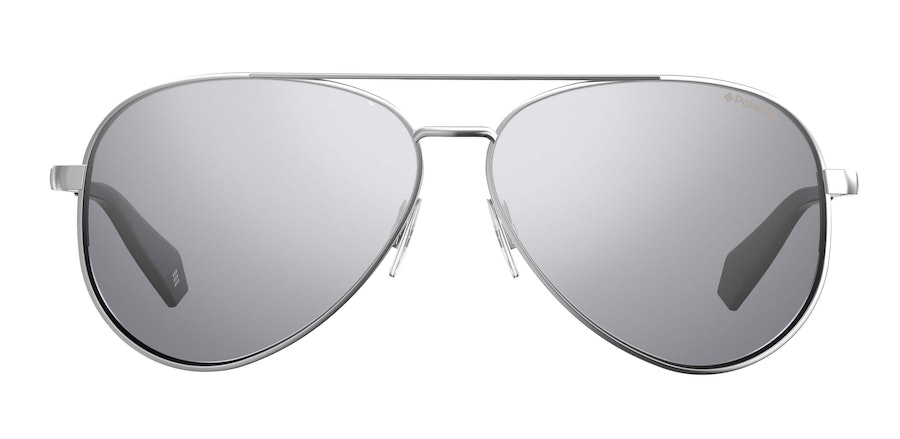 Love Island x Polaroid Mirrored Aviator PLD 6069/S Women's Sunglasses Grey/Silver