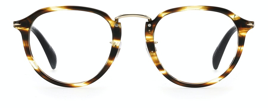 David Beckham Eyewear DB 1014 Men's Glasses Brown