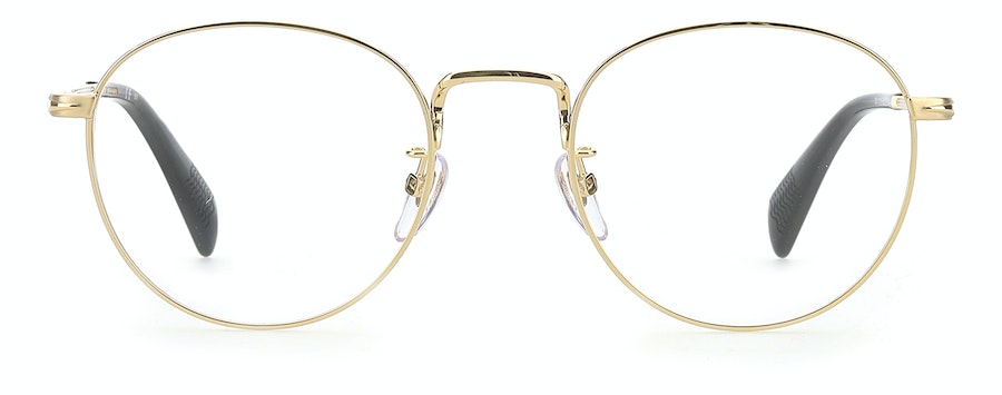 David Beckham Eyewear DB 1015 Men's Glasses Gold