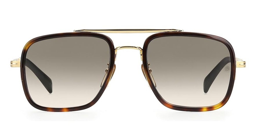 David Beckham Eyewear DB 7002/S Men's Sunglasses green/Tortoise Shell