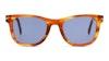 David Beckham Eyewear DB 1006/S Men's Sunglasses Blue/Brown