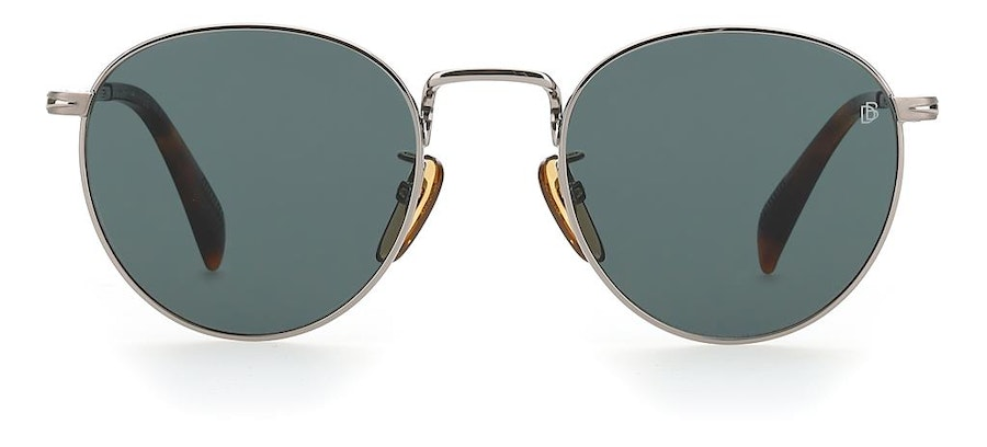David Beckham Eyewear DB 1005/S Men's Sunglasses Green/Silver