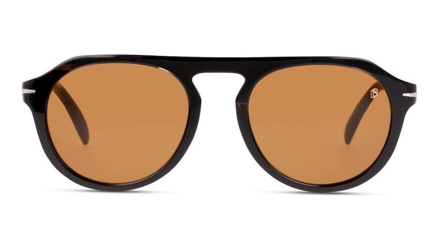 David Beckham Eyewear DB 7009/S Men's Sunglasses Brown/Grey